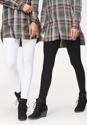 Boysen's Leggings, (Packung, 2er-Pack), mit Baumwolle kaufen