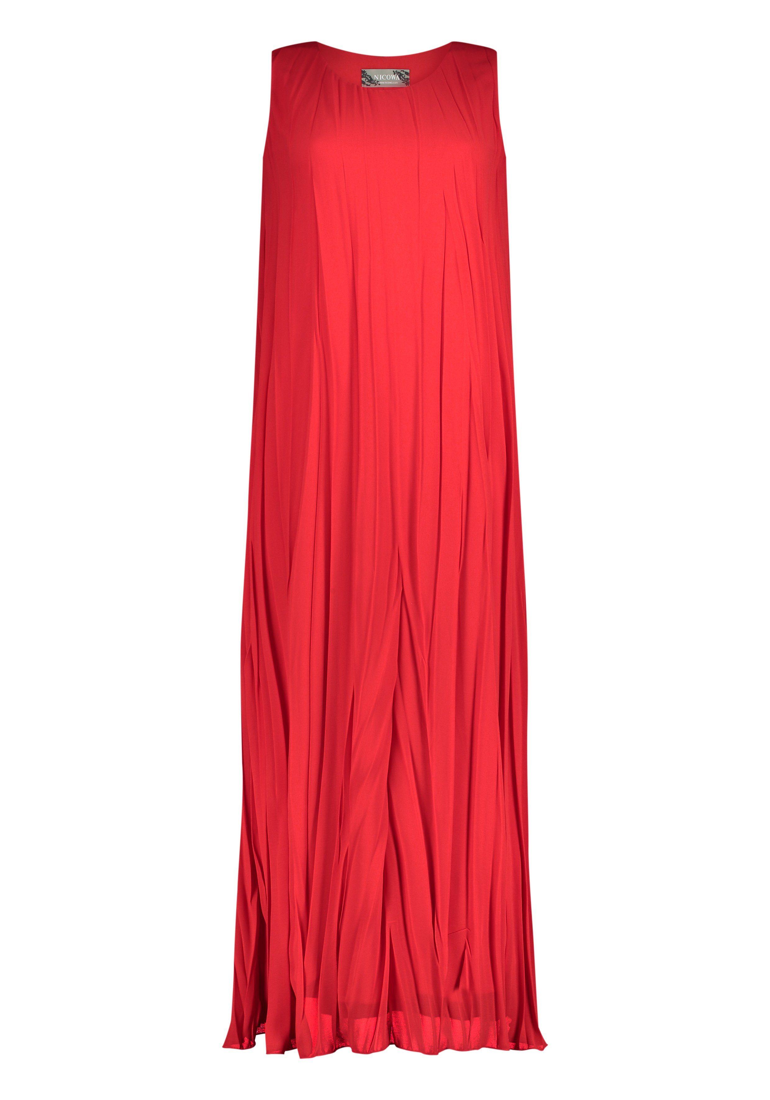 Nicowa Plisiertes und elegant fließendes Kleid NILIANA