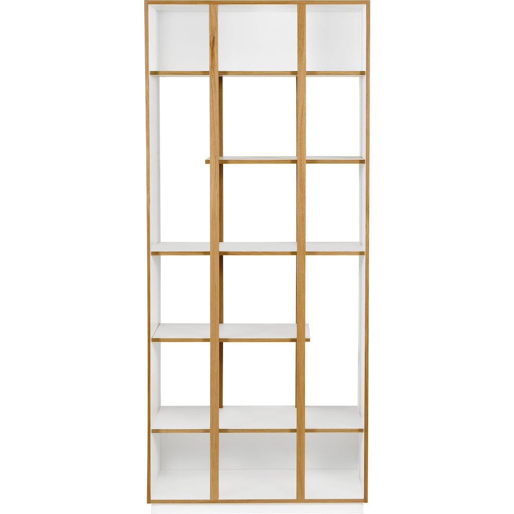 Woodman Bücherregal »Newbury«, in einem tollen skandinavian Look