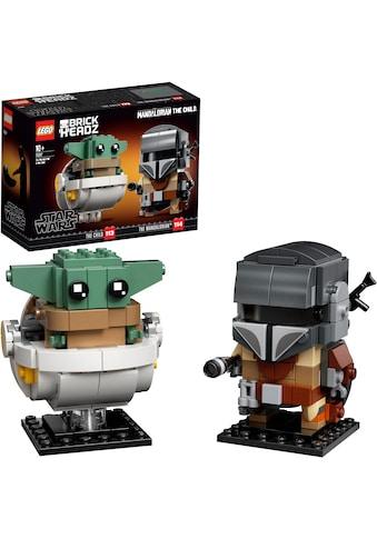 """LEGO® Konstruktionsspielsteine """"Der Mandalorianer™ und das Kind (75317), LEGO® Star Wars™"""", Kunststoff, (295 - tlg.) kaufen"""