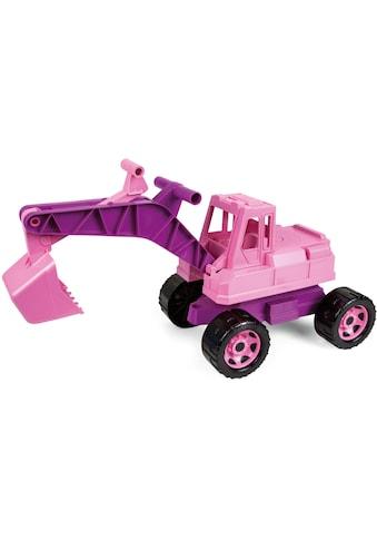 """Lena® Spielzeug - Aufsitzbagger """"Giga Trucks, rosa"""" kaufen"""