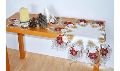 Tischdecke, »Kerzenschein«, Stickereien Plauen kaufen