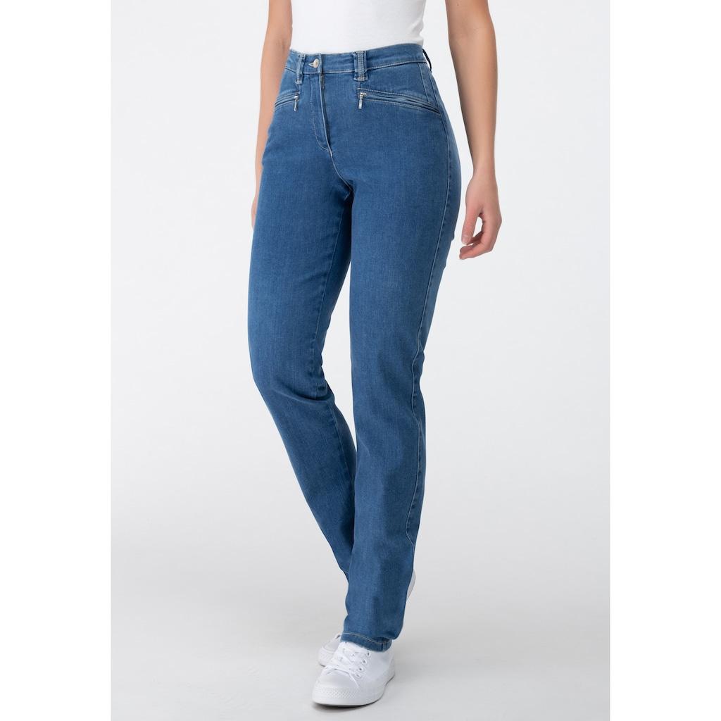 Recover Pants Jeans mit Reißverschlußtaschen