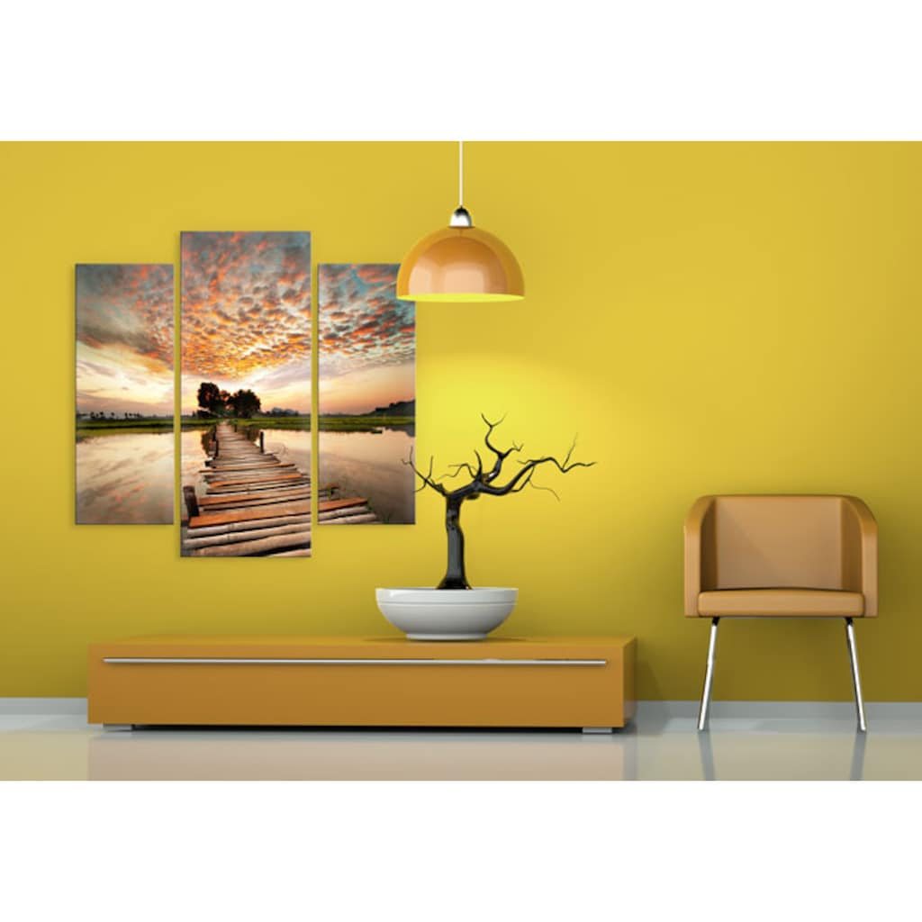 Wall-Art Mehrteilige Bilder »To the other Side (3-teilig)«, (Set, 3 St.)