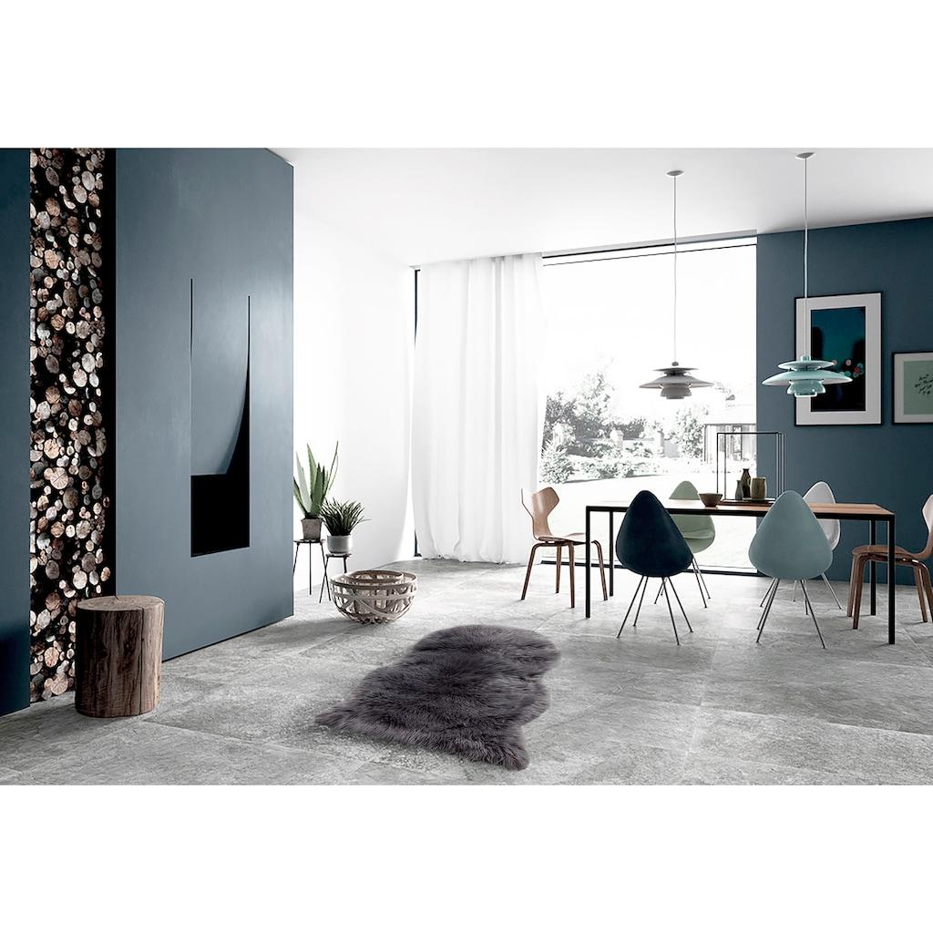 LeGer Home by Lena Gercke Fellteppich »Lenja«, tierfellförmig, 60 mm Höhe, Wohnzimmer
