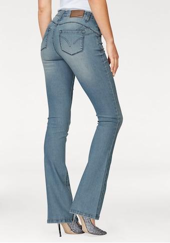 Arizona Bootcut-Jeans »Shaping«, Mid Waist kaufen