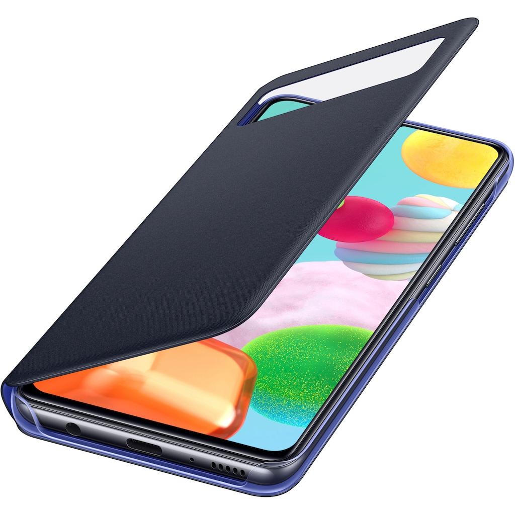 Samsung Smartphone-Mappe »S View Wallet Cover EF-EA415 Galaxy A41«, Samsung Galaxy A41