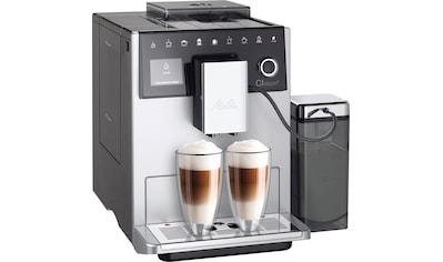 Melitta Kaffeevollautomat Melitta® CI Touch® F 630 - 101, silberfarben/schwarz, 1,8l Tank, Kegelmahlwerk kaufen