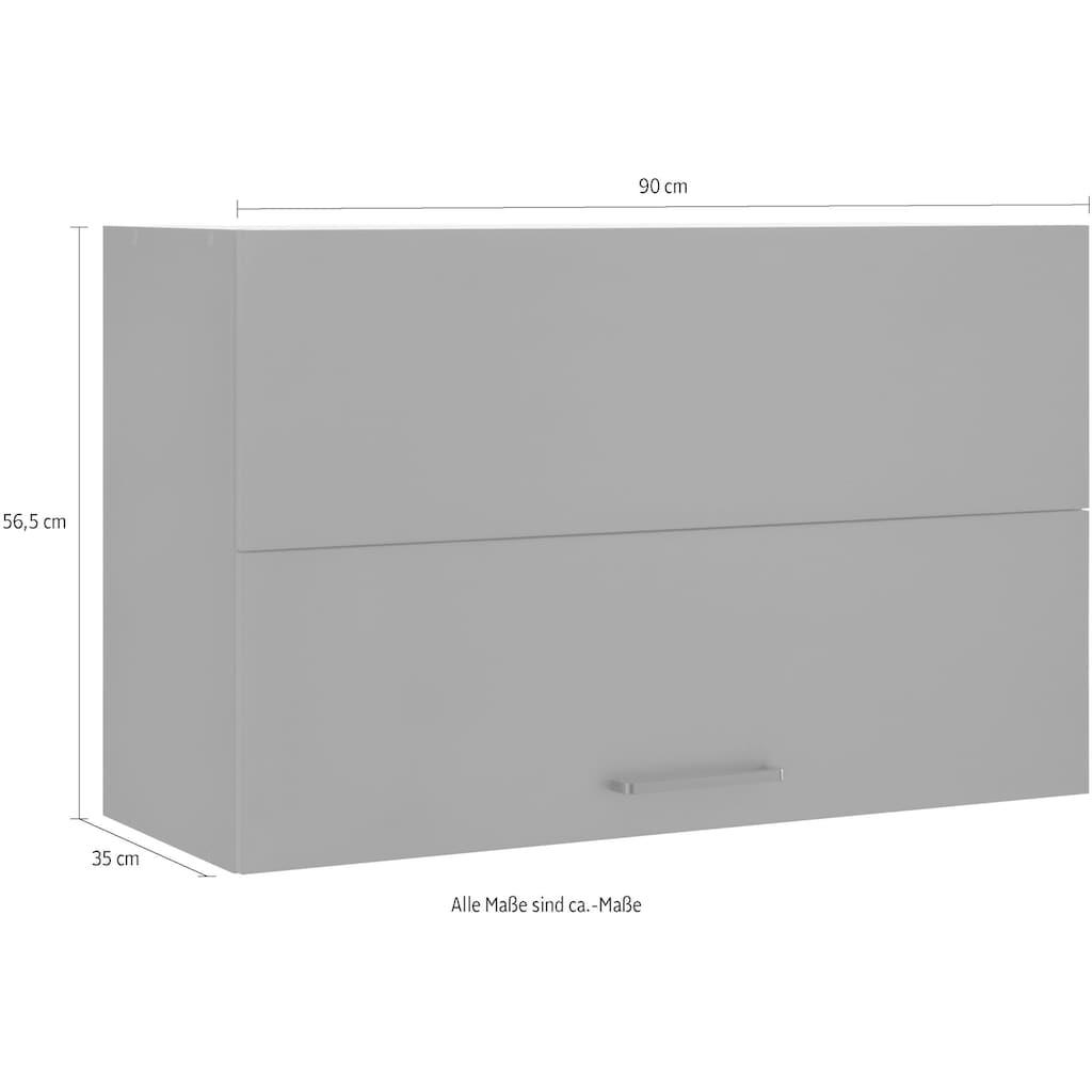 wiho Küchen Faltlifthängeschrank »Esbo«, Breite 90 cm