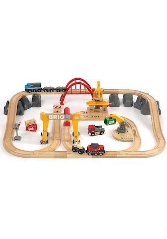 """BRIO® Spielzeug - Eisenbahn """"BRIO® WORLD Frachten Set Deluxe"""" (Set) kaufen"""