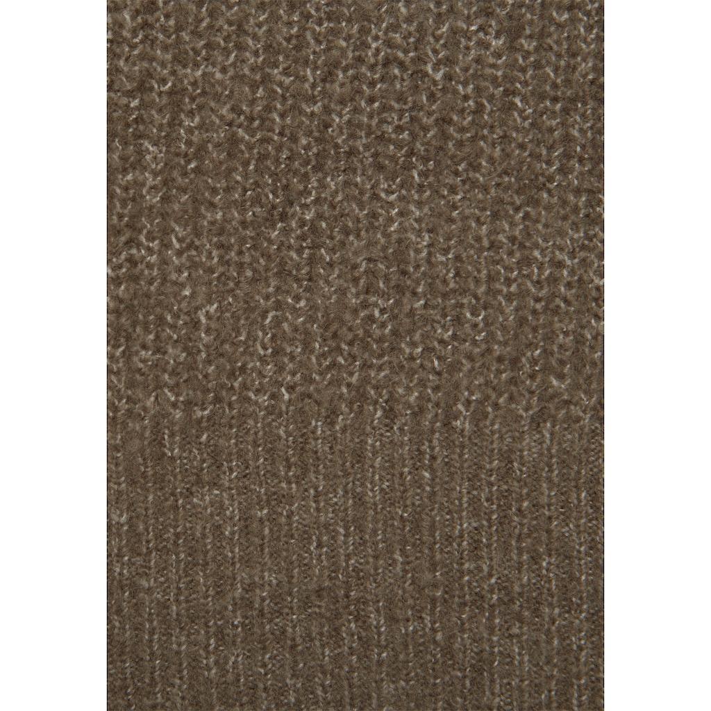 LASCANA Strickkleid, aus weichem Rippstrick