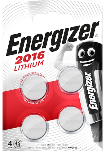 Energizer Batterie »Lithium CR-Typ 2016 4 Stück«, 3 V kaufen