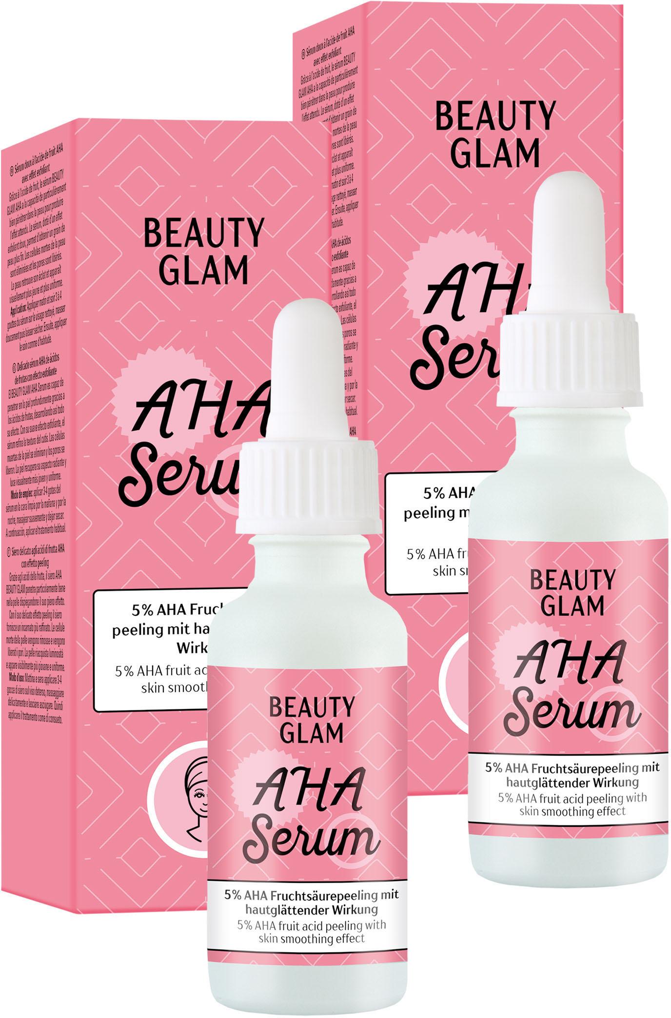 beauty glam -  Gesichtspflege-Set AHA Serum, (2 tlg.)