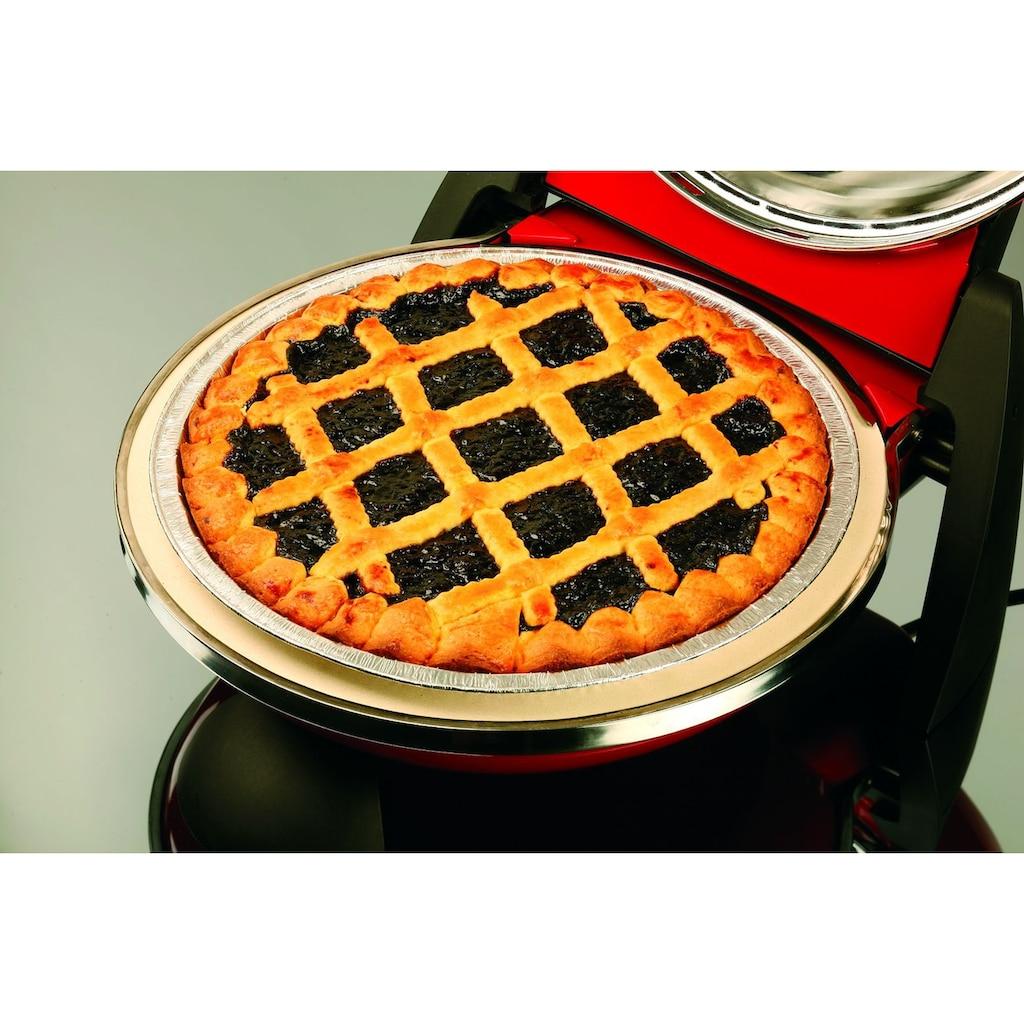 G3Ferrari Pizzaofen »Delizia G10006«, Ober-/Unterhitze, 1200 W, Temperatur bis 390°, mit feuerfestem Naturstein
