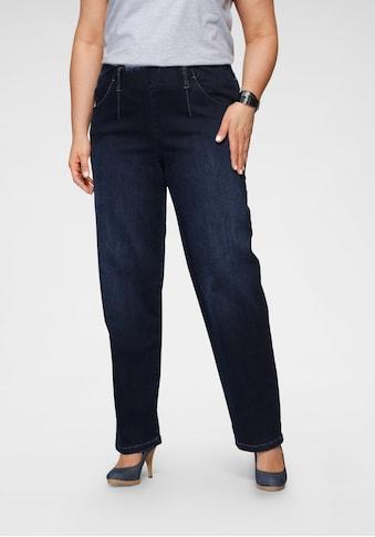 KjBRAND Gerade Jeans »Sally«, mit Schlupfbund kaufen
