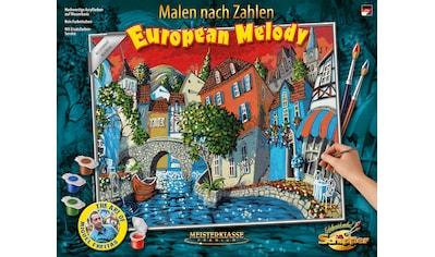 Schipper Malen nach Zahlen »Meisterklasse Premium - The European Melody«, Made in Germany kaufen