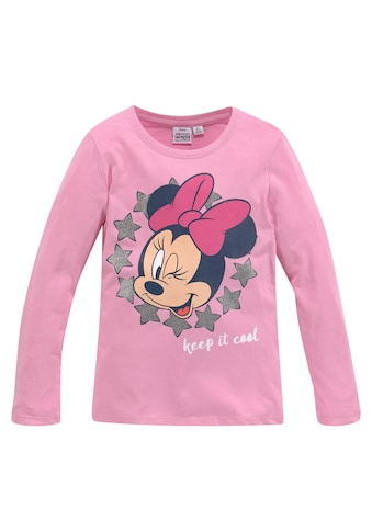 Disney Minnie Mouse Langarmshirt »KEEP IT COOL Minnie Mouse« kaufen