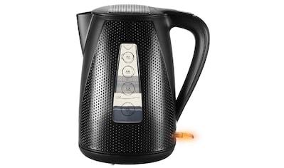 Unold Wasserkocher »BLITZKOCHER Golf Black«, 1.7 l, 2150 W, Kabelloser, abnehmbarer Wasserbehälter kaufen