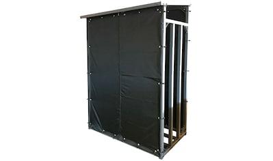 QUICK STAR Wetterschutz für Kaminholzregal 130x70x185 cm kaufen