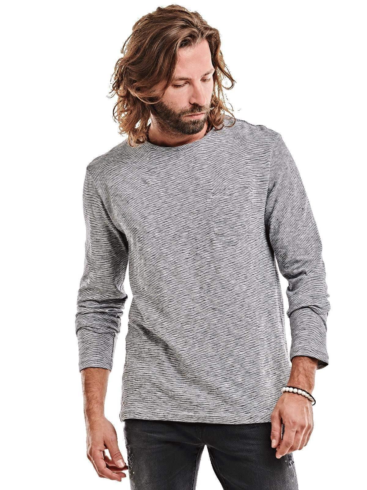 emilio adani -  Jersey Rundhals Shirt