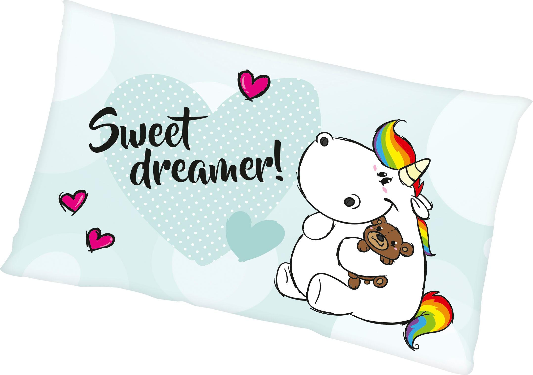 Dekokissen Sweet Dreamer Pummeleinhorn