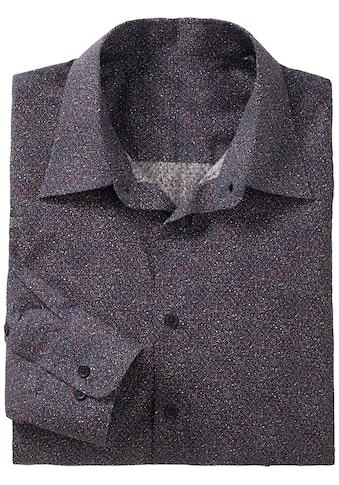 Marco Donati Langarm - Hemd im angesagtem Minimal - Muster kaufen