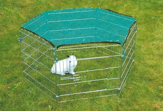 trixie auslaufgehege mit schutznetz auf rechnung baur. Black Bedroom Furniture Sets. Home Design Ideas