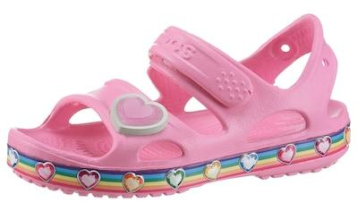 Crocs Sandale »Crocs Fun Lab Rainbow«, mit Klettverschluss kaufen