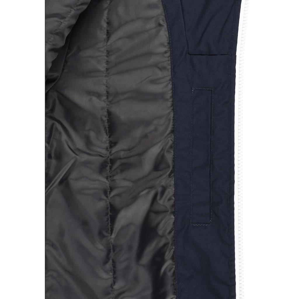 Solid Kurzjacke »Tilly«, Übergangsjacke mit kontrastfarbenen Reißverschlüssen