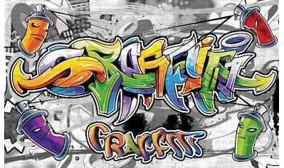 CONSALNET Fototapete »Buntes Graffiti«, Vlies, in verschiedenen Größen kaufen