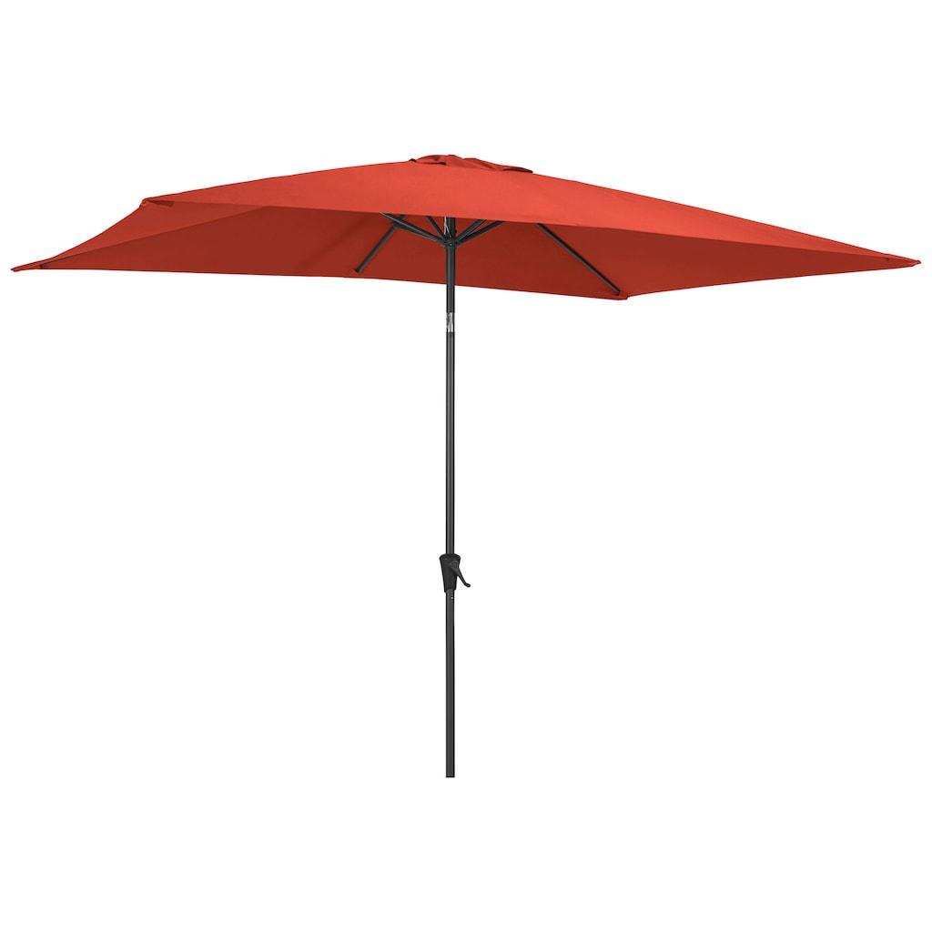 garten gut Sonnenschirm, abknickbar, ohne Schirmständer