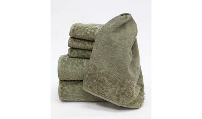Döhler Handtuch Set »Stones 6-teilig«, Set kaufen