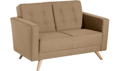 Max Winzer® 2-Sitzer »Julius«, mit Knopfheftung, Breite 128 cm kaufen