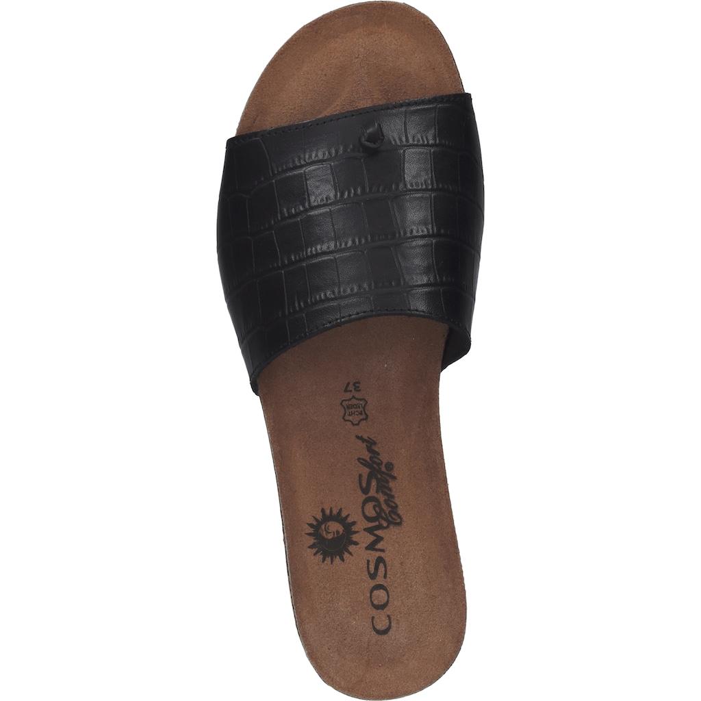 COSMOS Comfort Zehentrenner »Leder«