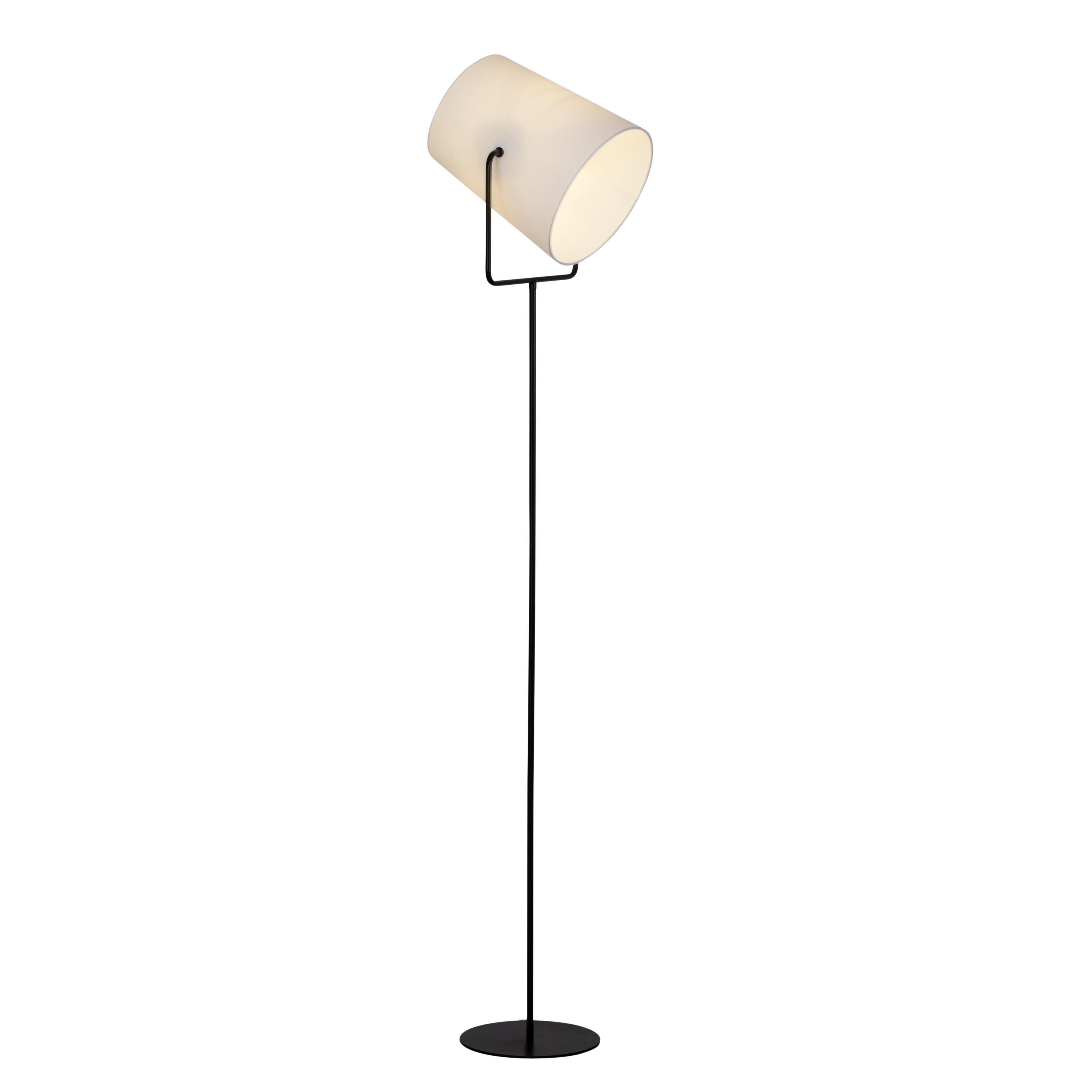 Brilliant Leuchten Bucket Standleuchte 1flg schwarz/weiß