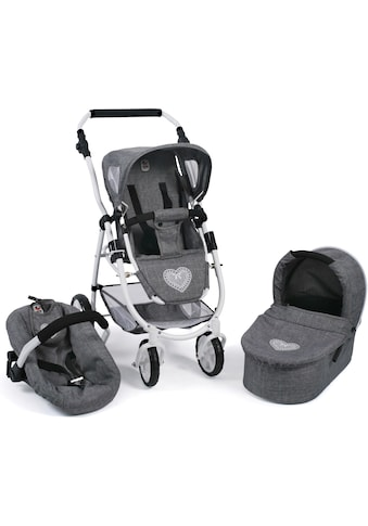 "CHIC2000 Kombi - Puppenwagen ""Emotion All In 3in1, Jeans Grey"" kaufen"