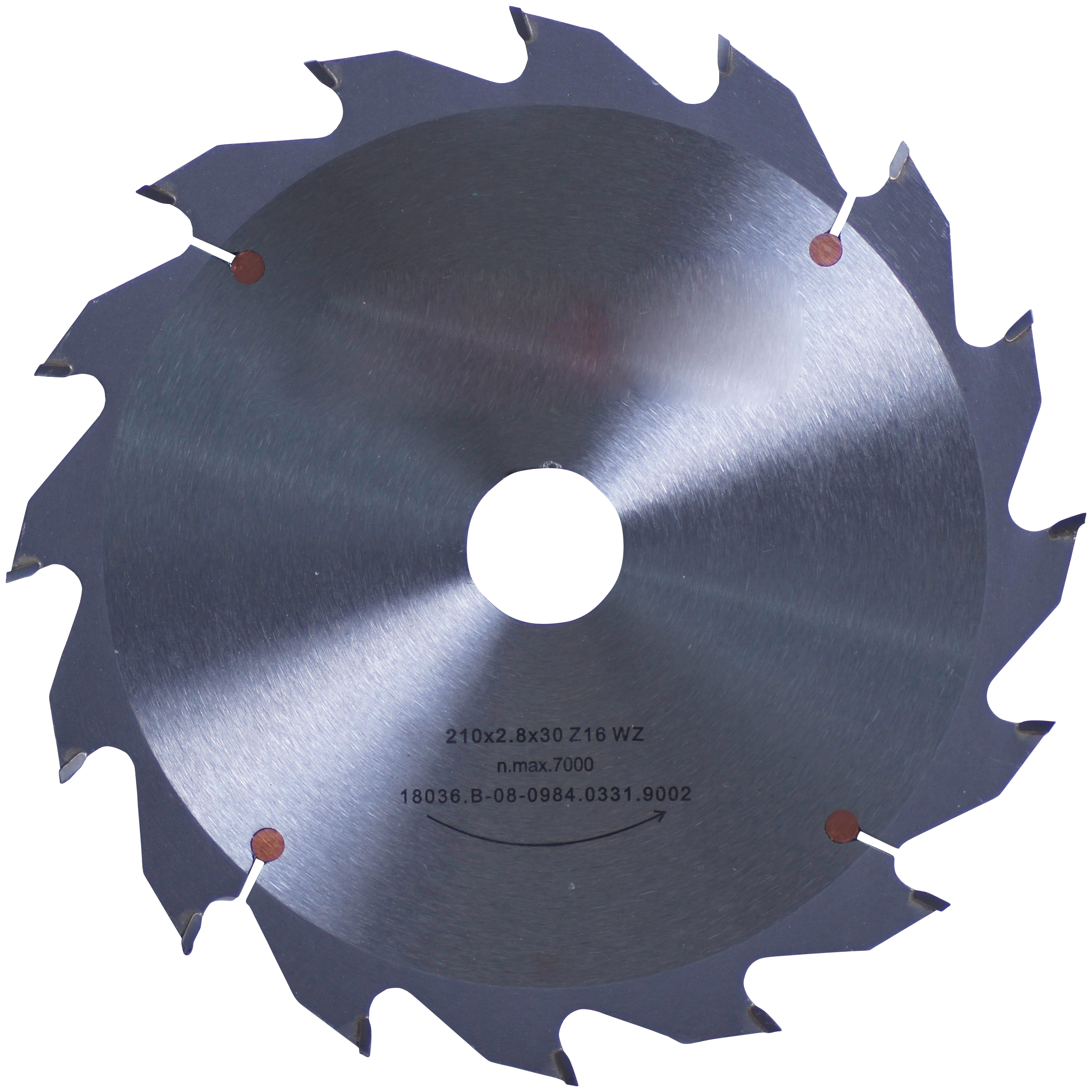 Connex Kreissägeblatt, Handkreissägeblatt, HM, grob, Ø 210 mm grau Sägen Werkzeug Maschinen Kreissägeblatt