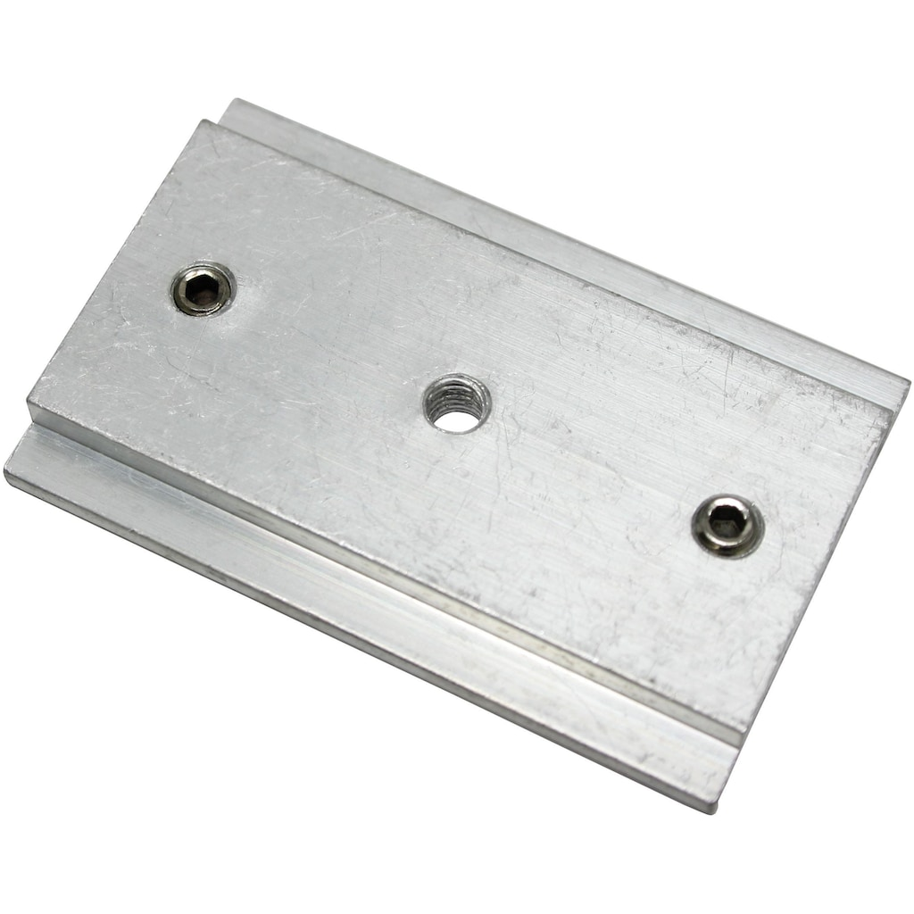 GARDINIA Gardinenstangenhalter »Gardinenschienen-Verbinder«, Serie Flächenvorhang-Technik Atlanta