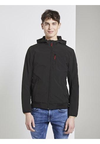 TOM TAILOR Denim Softshelljacke »Softshell Jacke mit Kapuze« kaufen