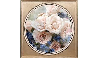 queence Acrylglasbild »Bunter Blumenstrauß III« kaufen