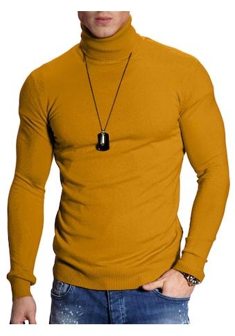 behype Rollkragenpullover »TIM«, im Slim Fit-Schnitt kaufen
