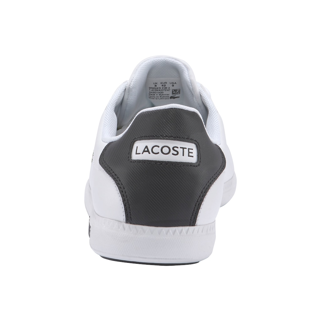 Lacoste Sneaker »GRADUATE 0120 2 SMA«