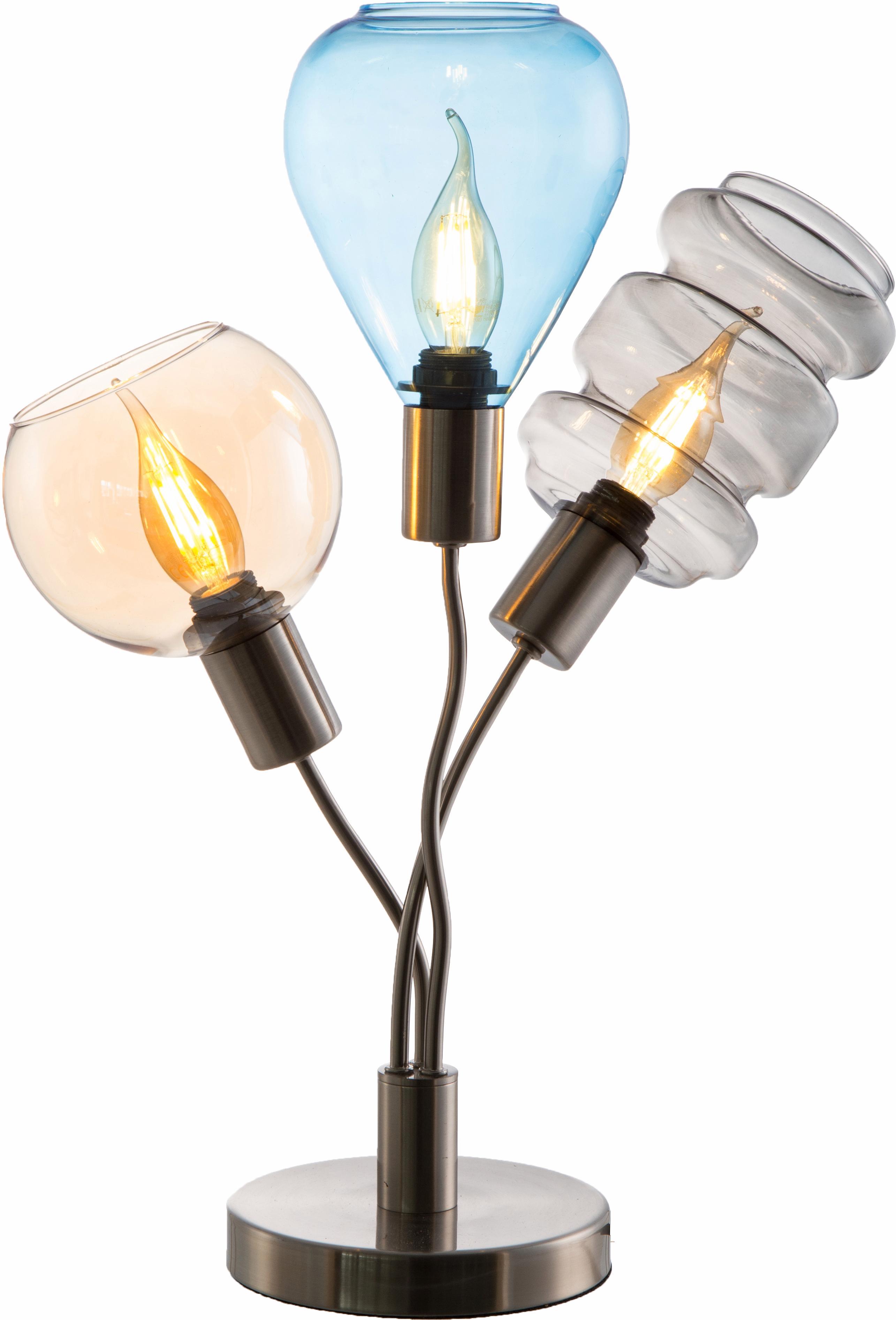 Nino Leuchten Tischleuchte PESARO, E14