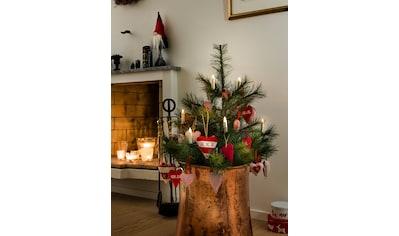 KONSTSMIDE LED Baumbeleuchtung, 10 kleine kabellose Kerzen kaufen