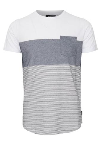 Indicode T-Shirt »Morler«, T-Shirt im Colorblock-Look kaufen