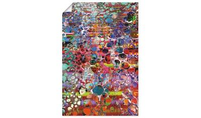 Artland Wandbild »Hölzernes Hochland«, Muster, (1 St.), in vielen Größen & Produktarten - Alubild / Outdoorbild für den Außenbereich, Leinwandbild, Poster, Wandaufkleber / Wandtattoo auch für Badezimmer geeignet kaufen