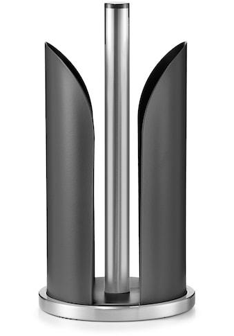 Zeller Present Küchenrollenhalter, pulverbeschichtetes Metall, Ø 15 cm kaufen