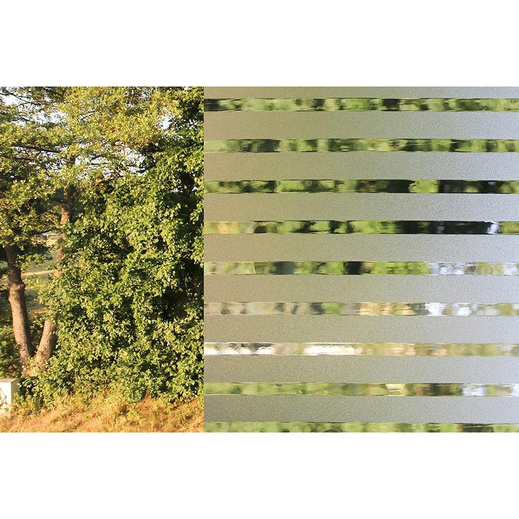 mydeco Fensterfolie »Stripe«, 1 St., halbtransparent, statisch haftend