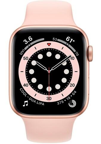 Apple Series 6 GPS + Cellular, Aluminiumgehäuse mit Sportarmband 44mm Watch (Watch OS) kaufen