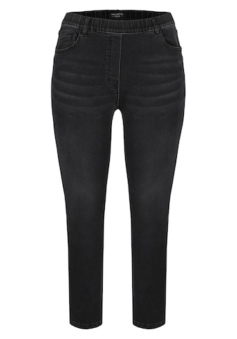VIA APPIA DUE Feminine Jeans mit Glitzerstreifen kaufen